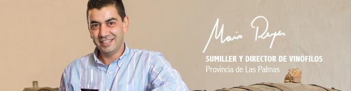 Mario Reyes Sumiller Director de Vinófilos
