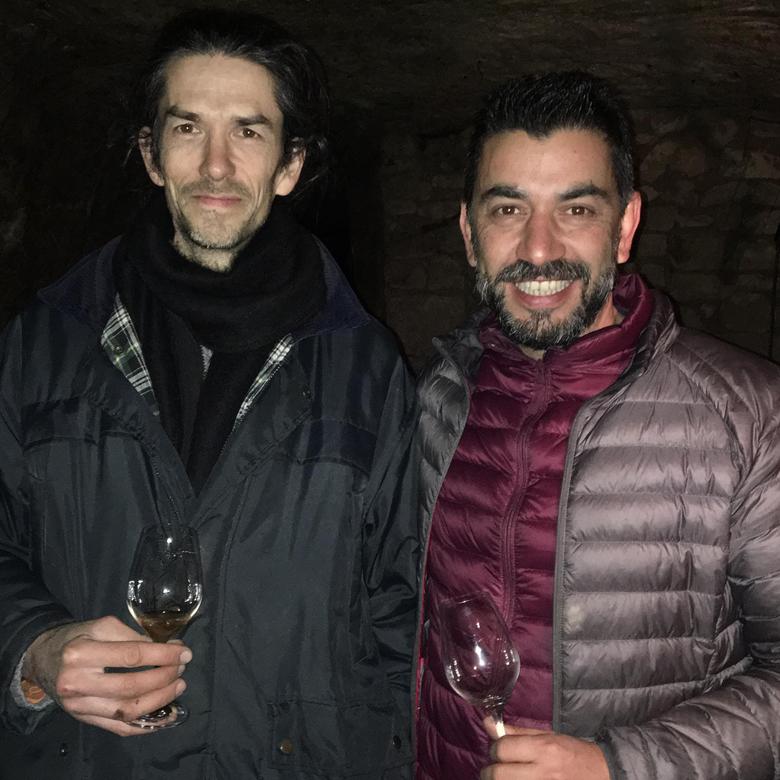 Mario con Xavier Galliard Loira