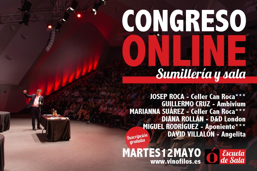 Inscripción al Congreso Online de Sumillería y Sala