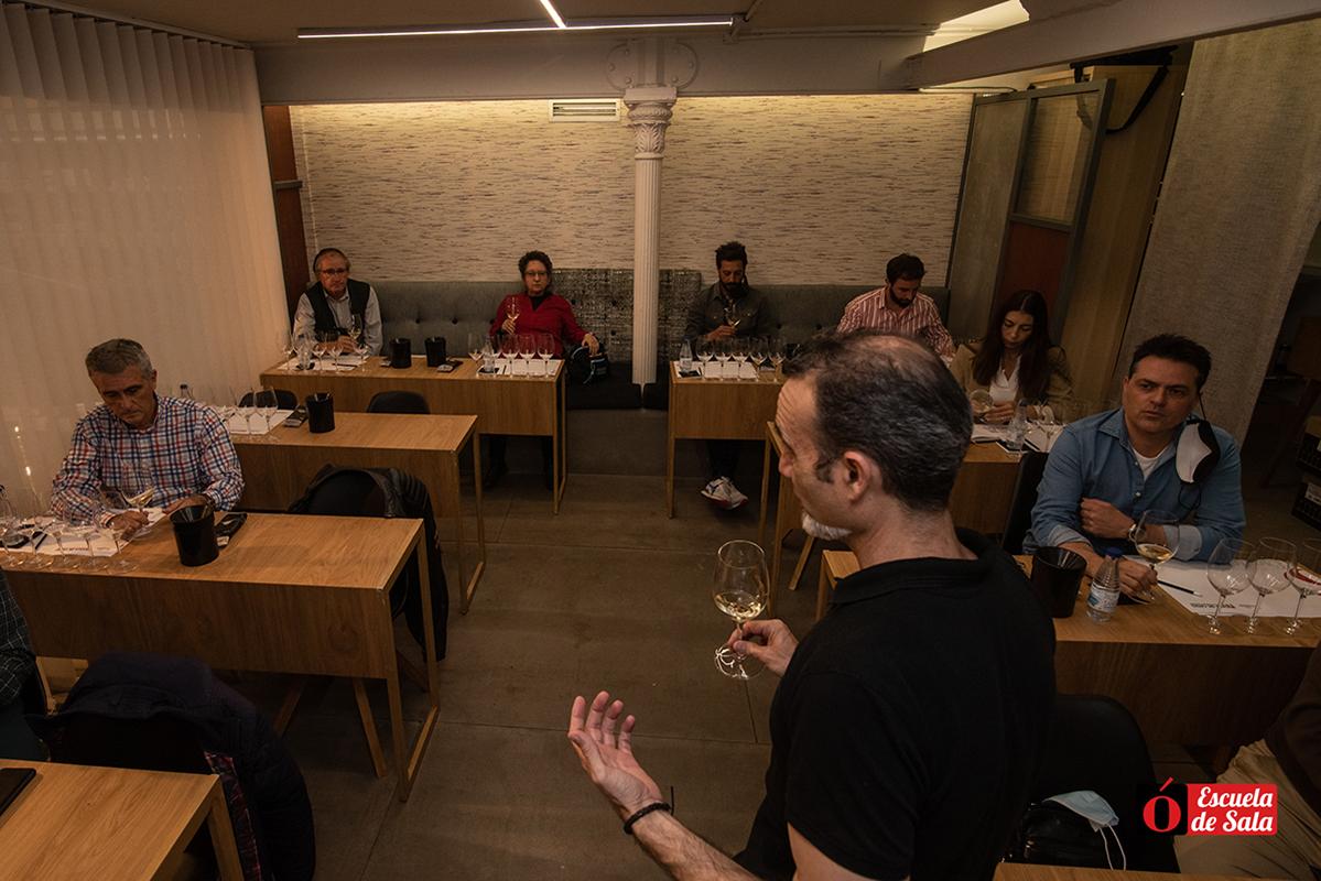 Cata vinos Marco de Jerez