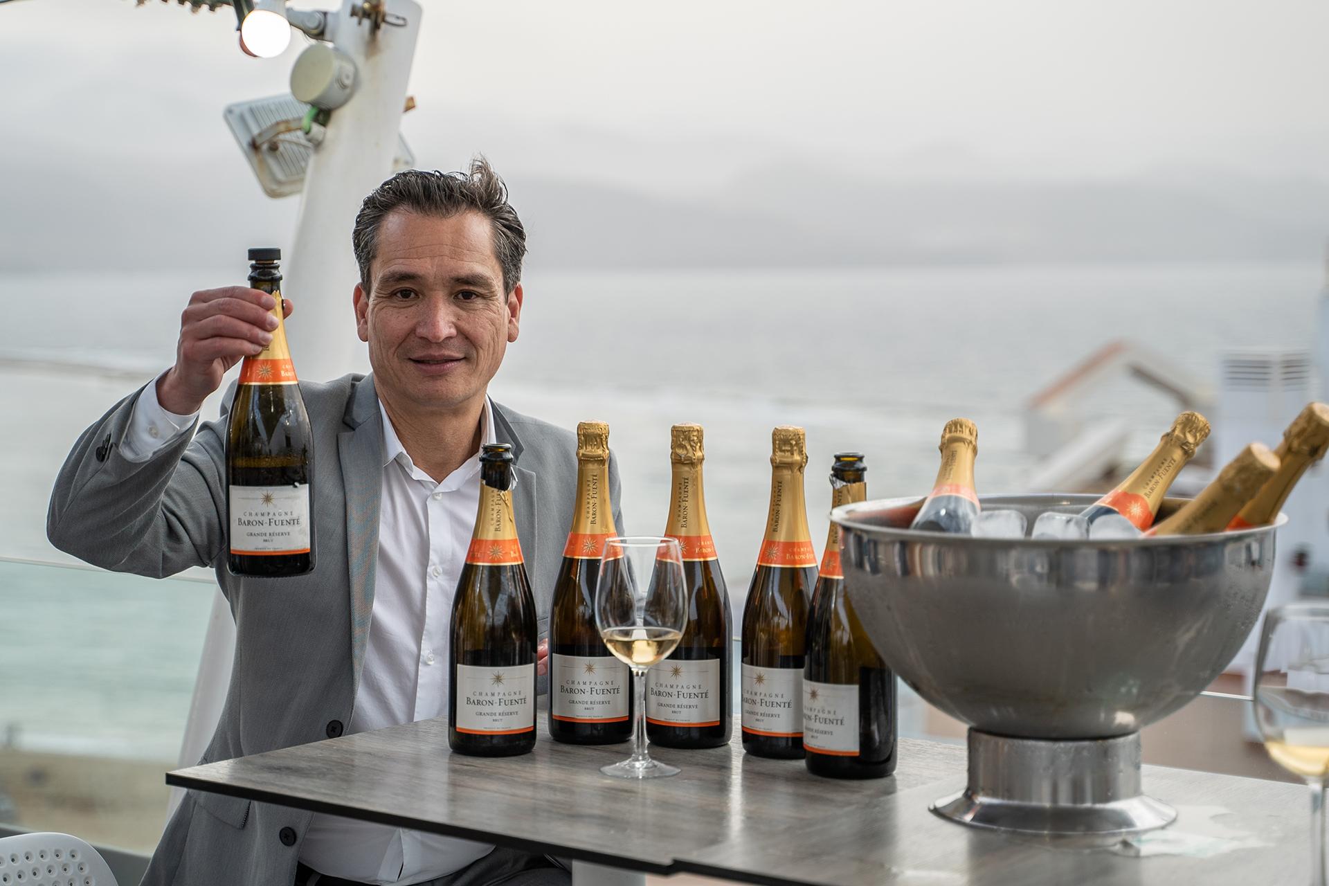 Cata Champagne Barón Fuenté