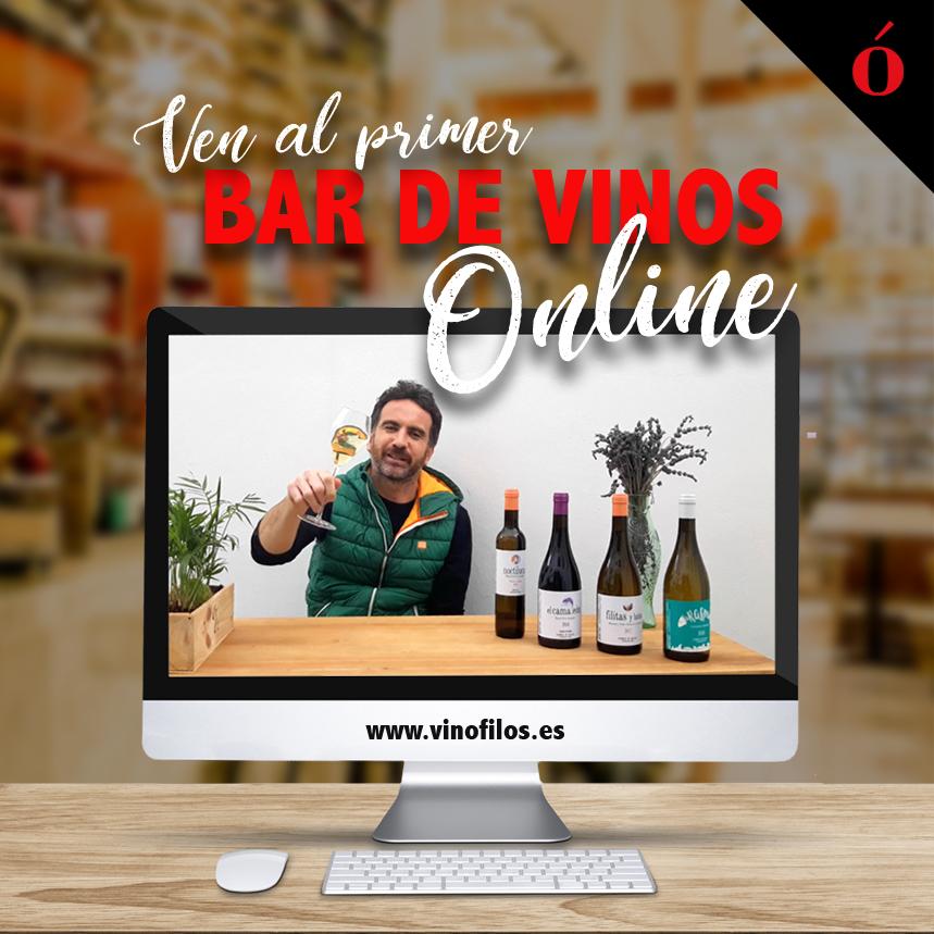 Vinófilos abre el primer Bar de Vinos Online del mundo